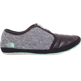 The North Face Thermoball Traction Mule II TNF Black Jumbo Herringbone Print/Surf Green